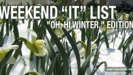 Welcome to December, friends.  Remember the balmy evenings of November?  They are no more.  With highs in the 40's we are getting a lovely preview of the upcoming winter months. Get your weekend event ideas here.