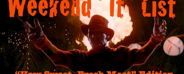 """Okay, okay…I know """"How sweet, fresh meat"""" was in 4, but I couldn't resist! I'm super excited to see A Nightmare On Elm Street, Part 2: Freddy's Revenge at the..."""