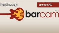 """The 2010 Barcamp Nashville is behind us but that doesn't me it's over. In episode 27 we ask """"How was attendance?"""", """"Why is it still called Barcamp?"""" along with highlighting the people who make Barcamp Nashville successful. So dive in and listen the 2010 Barcamp Nashville recap and the discussion of the future of one of Nashville's premiere technology events. For full show notes and to listen visit: NashvilleTechFeed.com"""