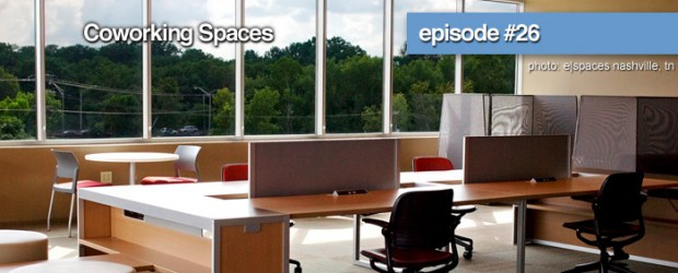 """In episode 26 we discuss the new trend of co-working spaces. Josh Bowling co-founder of Espaces and Kailey Hussey Director of CoLab join us to discuss. And as always we finish the show with """"What We're Consuming"""" To listen visit NashvilleTechFeed.com"""
