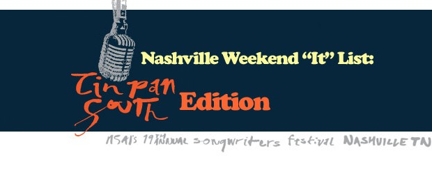 By TPS reports we mean Tin Pan South 2011 NSAI's Songwriter Music  Festival. We're making our picks of events not to miss for the weekend. Don't miss out what's happening in Nashville! Full list at NashvilleFeed.com