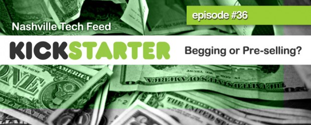 Kickstarter crowdfunding is the latest trend in the music industry and episode #36 we discuss the pros and cons of this resource for independent artists.